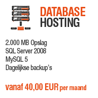 Database Hosting - 2.000 MB