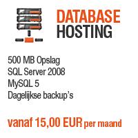 Database Hosting - 500 MB