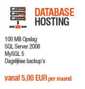 Database Hosting - 100 MB