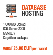 Database Hosting - 1.000 MB